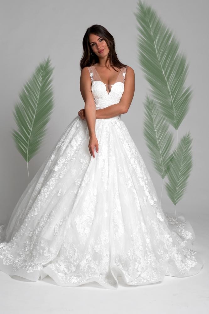 on sale 2af6b b1df9 Esempio abito da sposa che potete trovare nei nostri atelier ...