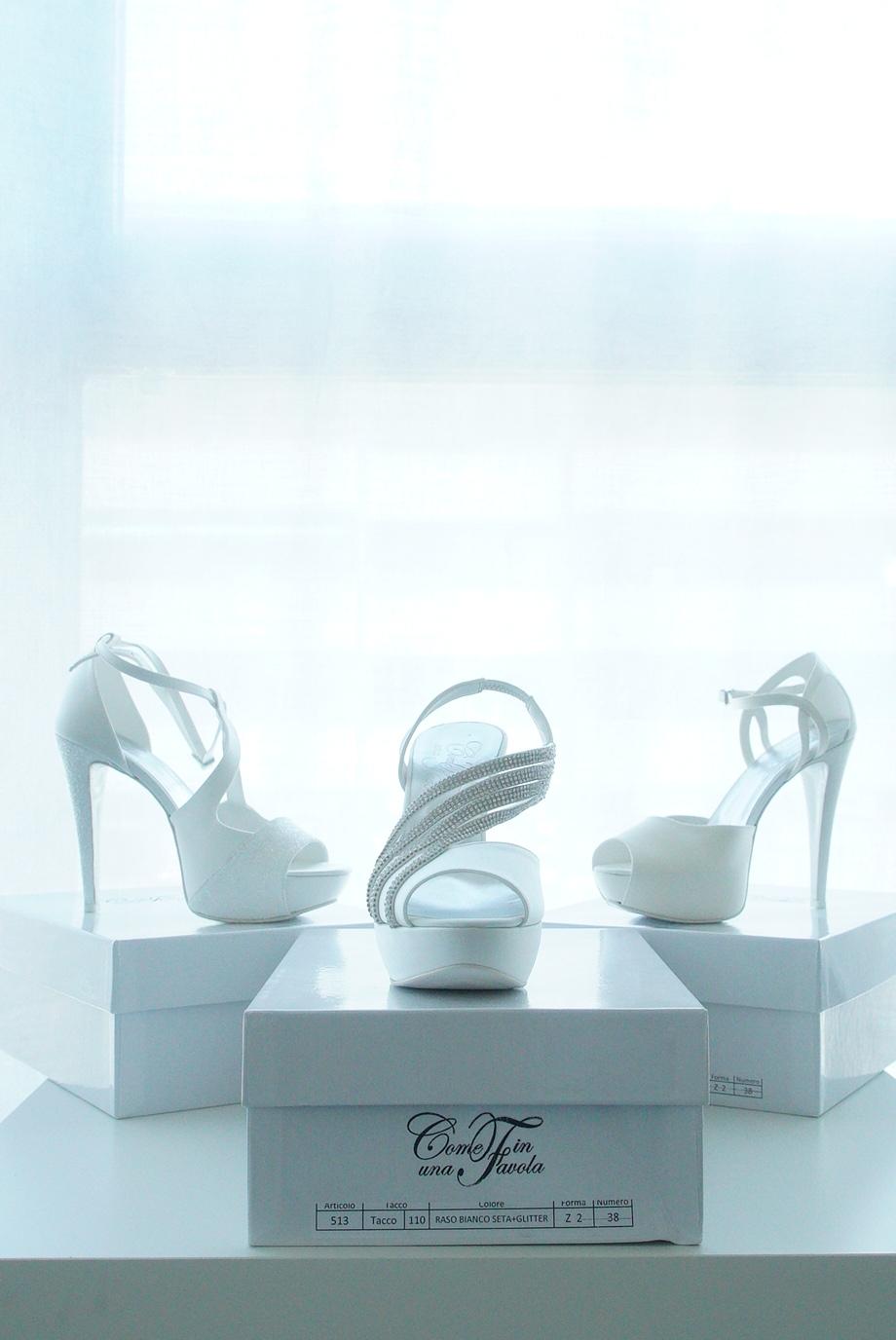 Outlet Scarpe Sposa.Scarpe E Sandali Personalizzabili Come In Una Favola Outlet Di