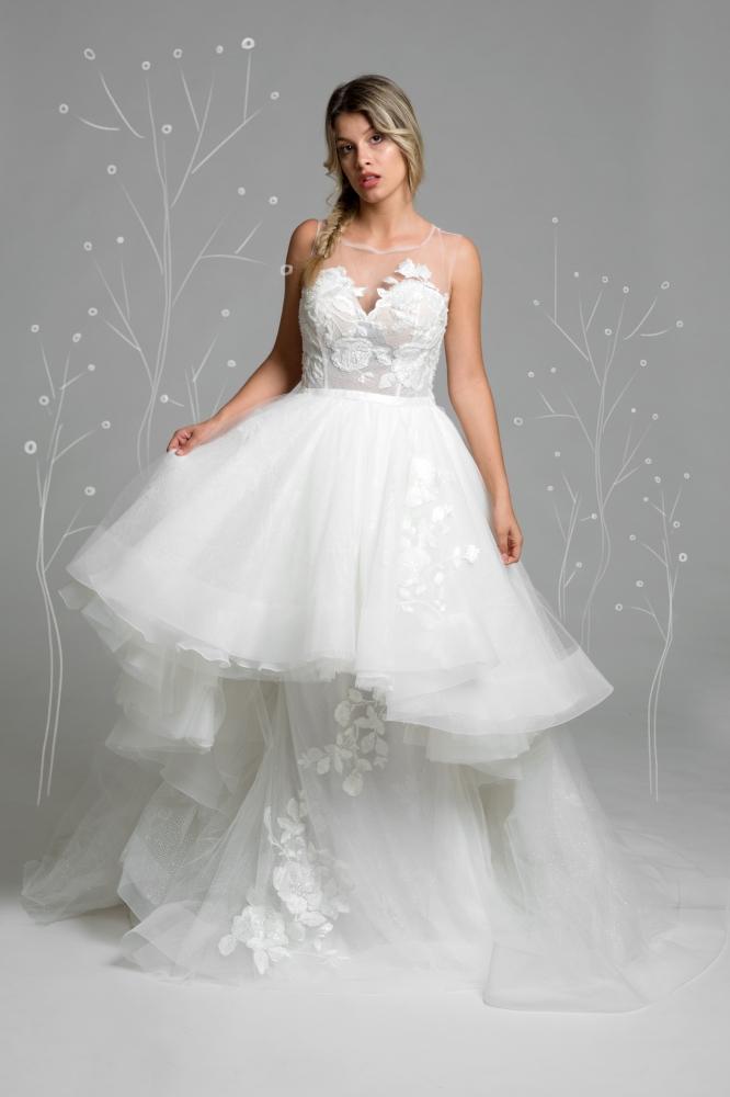 Esempio abito da sposa che potete trovare nei nostri atelier